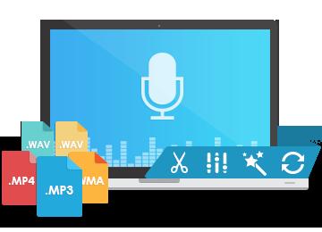 音声録音・編集ソフトRenee Audio Tools