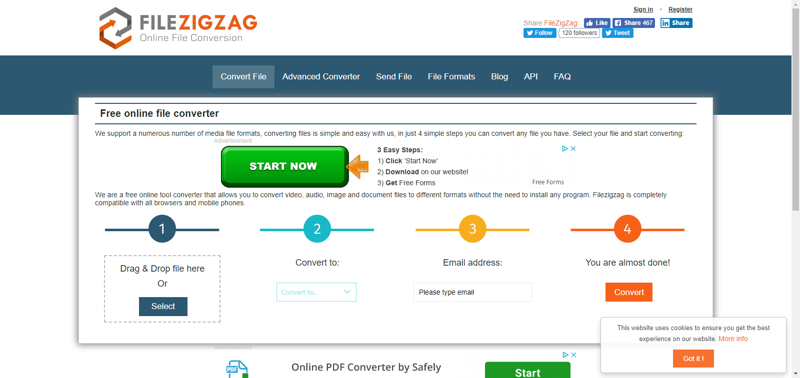 FileZigZagサイト