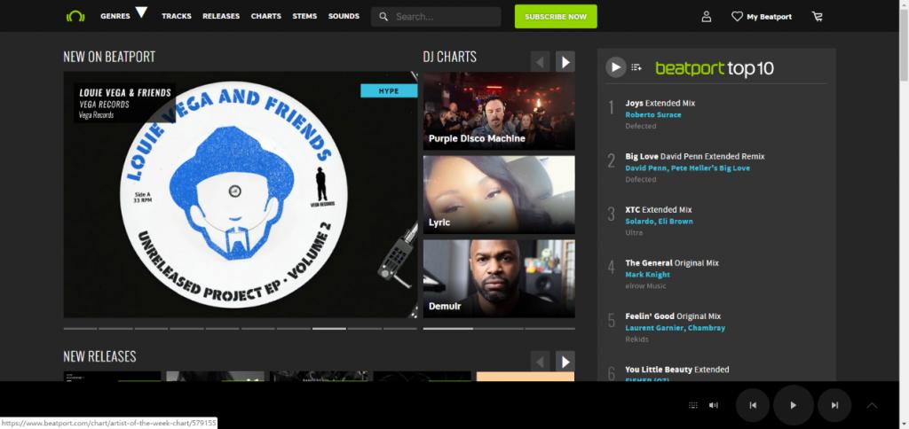 BeatPortサイト