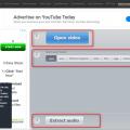 Audio Extractorサイト