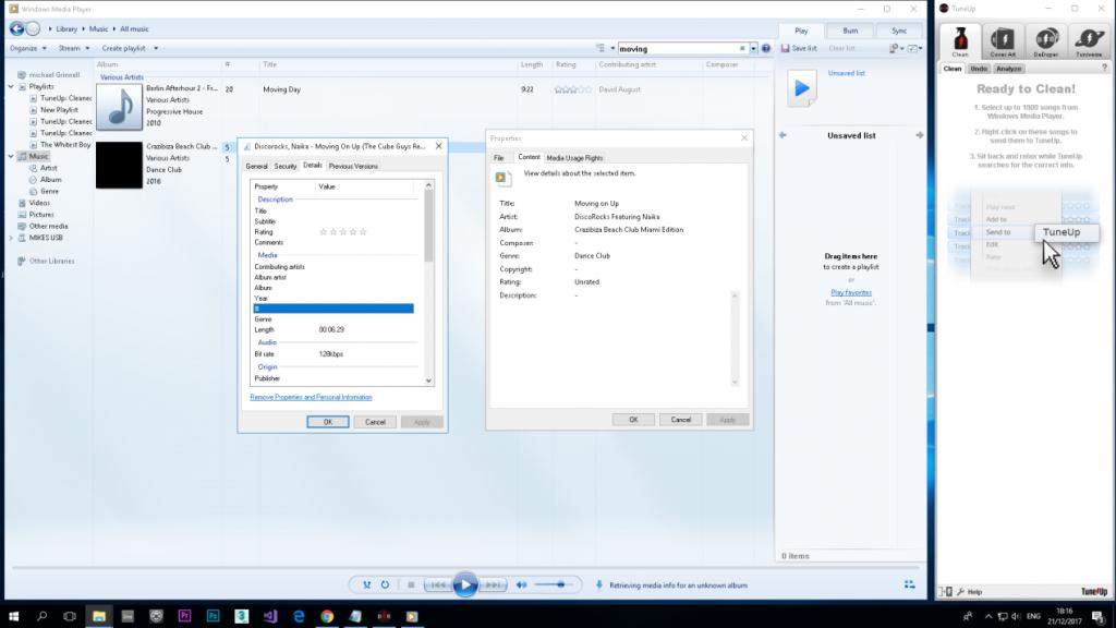 Windows Media Playerプレーヤー