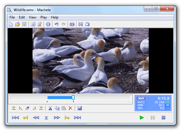 Machete Video Editor Lite動画編集ソフト