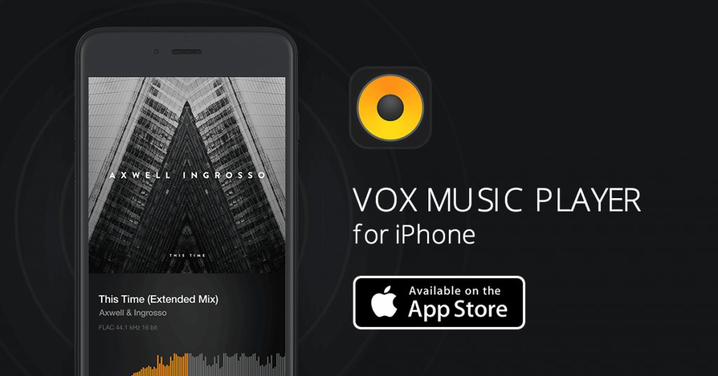 VOX – MP3 & FLAC Music Playerアプリ