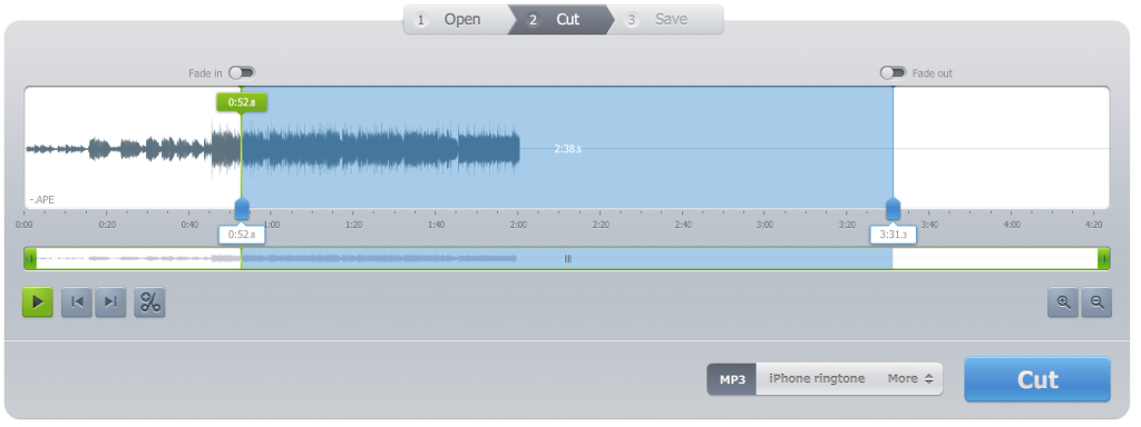 Audio Cutter Proサイト