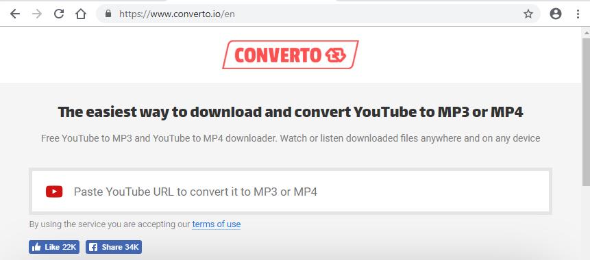 Convertoサイト