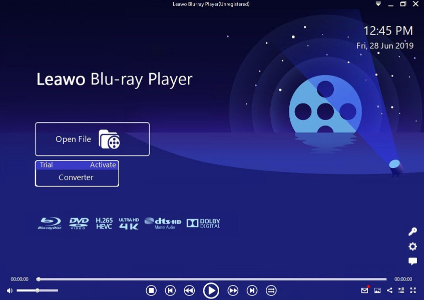 Leawo Blu-ray Playerソフト
