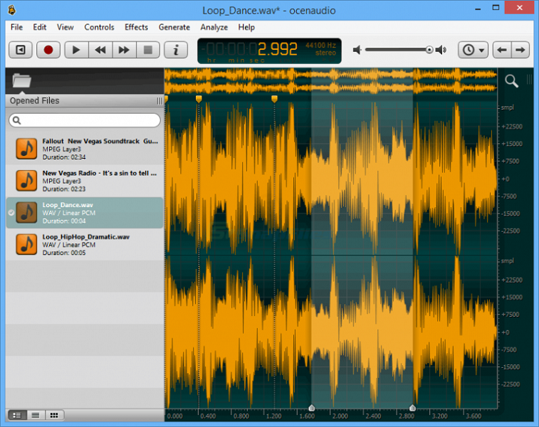 OcenAudioソフト