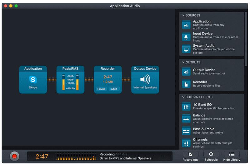 Audio Hijackソフト