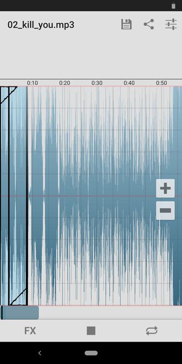 着信音作成ソフトRingtone Slicer FX